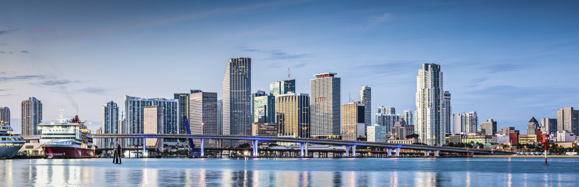 Miami Skyline Brickell